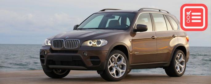 BMW X5 E70 Tile